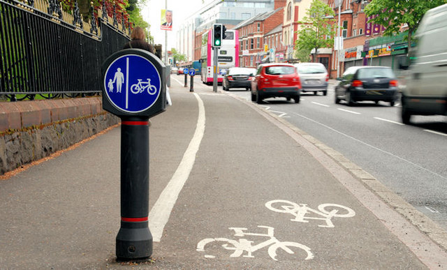 Cyclists Involved in Accidents Undertaking